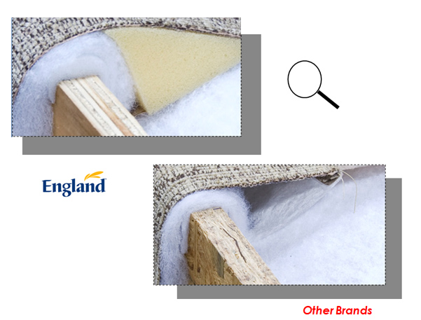 England Furniture - Frame Padding 02