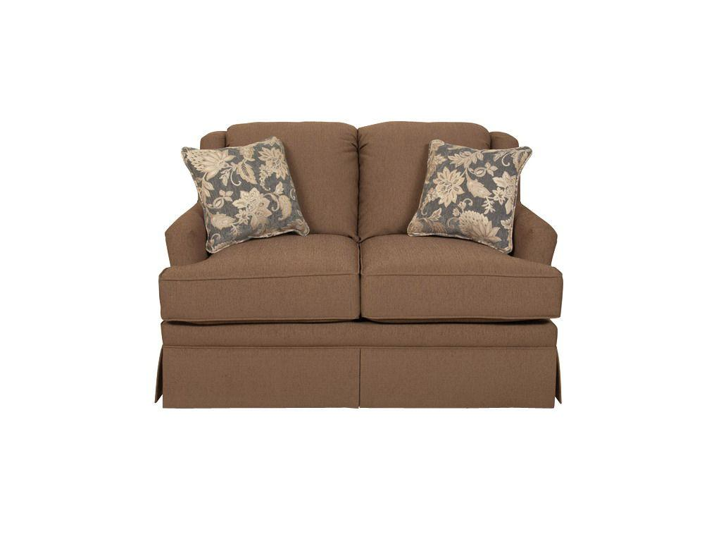England Furniture Beth Glider Loveseat