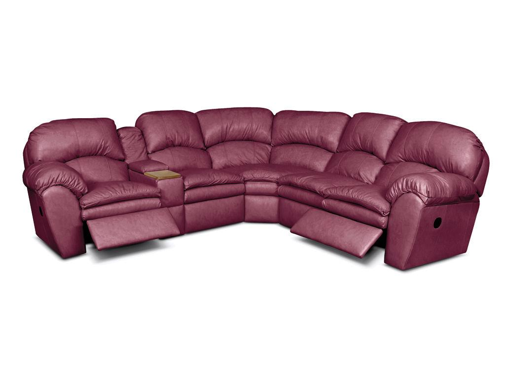 England Furniture Oakland Leather Sectional Sofa | England