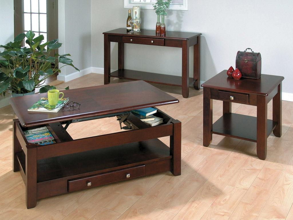 table in living room. England Furniture J280 Table Living Room Tables
