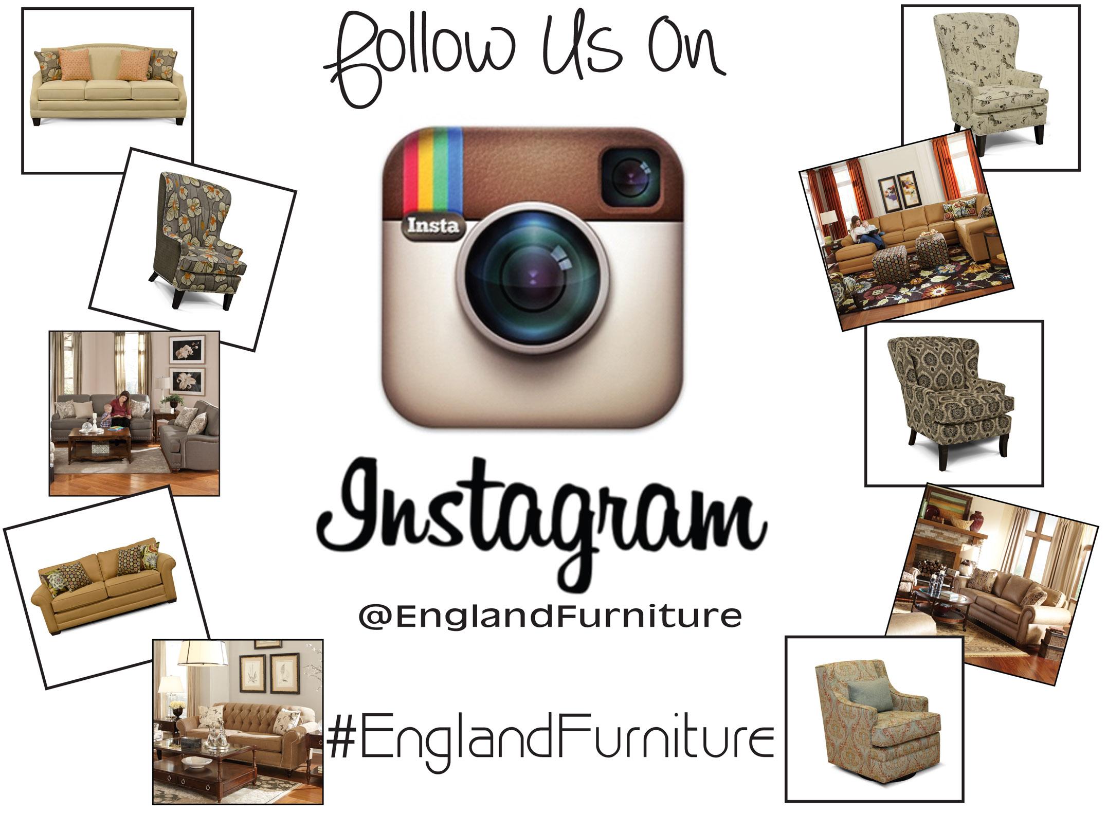 England Furniture Instagram