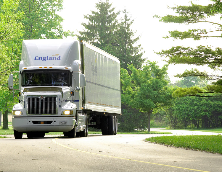 England Furniture truck - LaZBoy Logistics