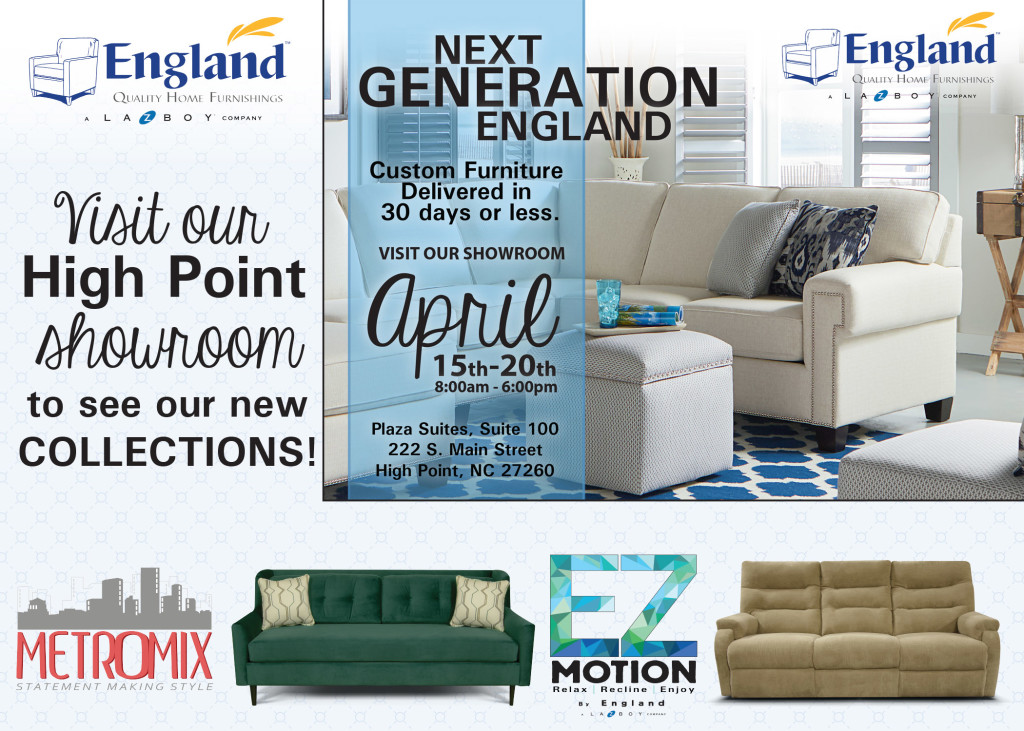 High Point Market England Furniture What 39 S Inside