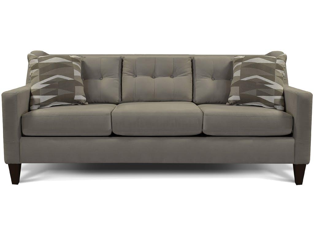 Superior Gray Tufted Sofa